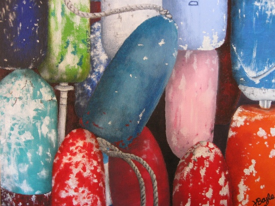 Buoys (oil)