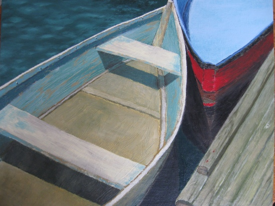 Dinghies (oil)