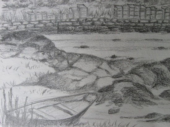 Lanes Cove (pencil)