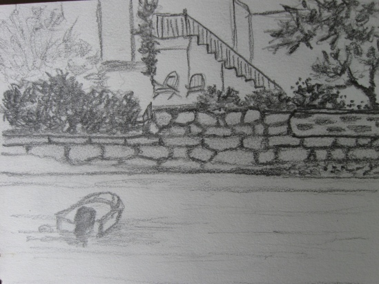 Walled Gardens (pencil)