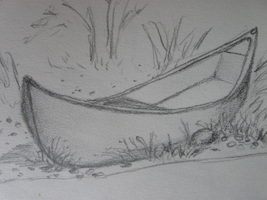 Granite Pier Skiff (pencil)
