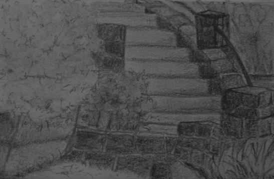 Horton St. Steps