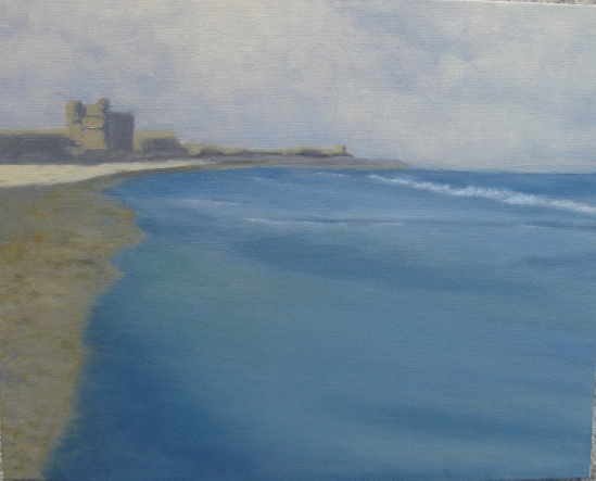Fernandina Beach, Amelia Island, Florida (oil, 8 x 10)